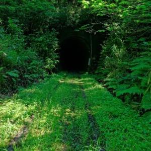 旧・国鉄宮原線トンネル跡