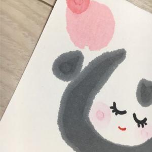 お誕生日絵手紙届いてるよ〜♪