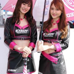 朝倉恵理子 さん & 今井みどり さん(EXEDY Racing Girls)