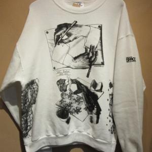 90s Deadstock M.C エッシャー スゥエットシャツ