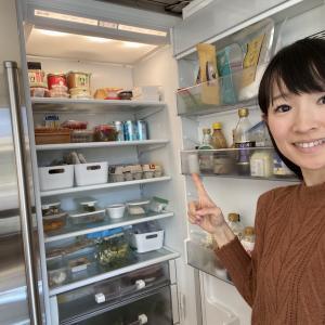 冷蔵庫の片づけしました! / 明日10時〜オンラインセミナー開催