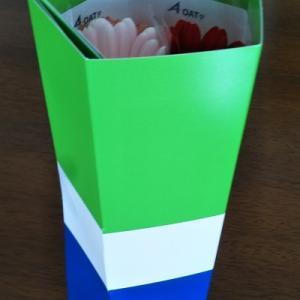 【OATアグリオ】さんからいただいた花ギフト箱の話
