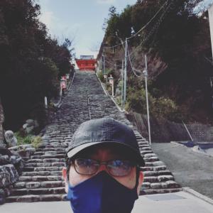 朝の伊佐爾波神社⛩️