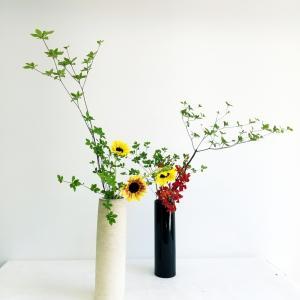 草月☆生徒様のレッスン作品➕秋の風景
