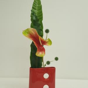 お花と器と!草月いけばなレッスン