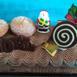 今年のクリスマスケーキ☆彡ブッシュドノエル篇