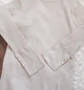 しまむらコーデ☆ニット コーデュロイスカート