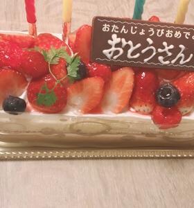 旦那の誕生日会☆