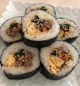 韓国料理☆キンパ
