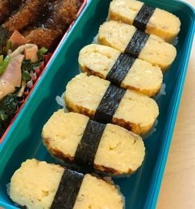 お寿司の玉子弁当☆