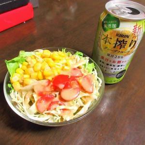ニラ玉肉豆腐やバジルペンネや筍煮でお腹空いてない晩酌