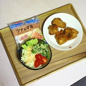 お総菜の鶏から揚げで晩ごはん&寝つきが悪い!