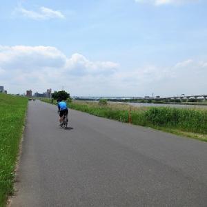 ランチサイクリング!キッチンとれたて@荒川土手志茂