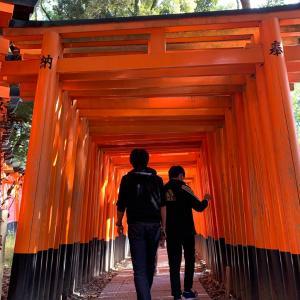 GoTo京都旅行①伏見稲荷大社へ