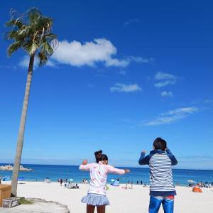 2泊3日の白浜旅行②今日はワイキキビーチの姉妹ビーチで