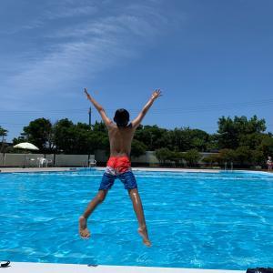 2泊3日の白浜旅行①プールと千畳敷