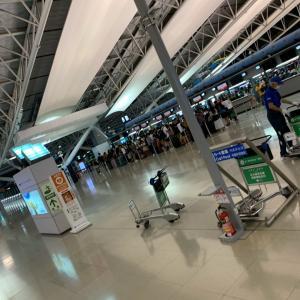 夏休み3家族ハワイ1日目①テンション高めに出発!!