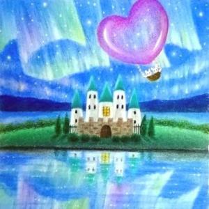 奇跡の夜に(パステル和アート)とソフトパステル24色講座モチーフ販売のお知らせ