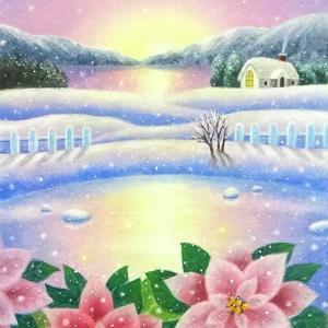 Dreaming snow(パステルアート)