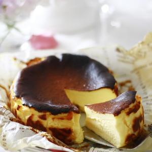 バスク風チーズケーキ♪