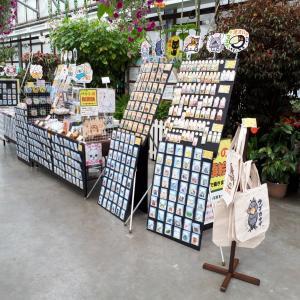 「掛川花鳥園」での出店、4日目まで終了しました、明日からも引き続き8/6迄よろしくお願いします