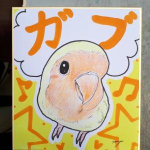 「掛川花鳥園」での出店も残り3日間、木曜日までよろしくお願いします