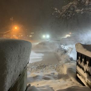令和史上最大の積雪‼︎(笑」