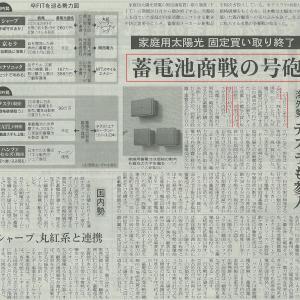 蓄電池商戦の号砲(#^.^#)