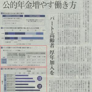 公的年金増やす働き方(#^.^#)