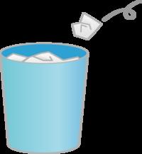 ゴミ箱の汚れby職場の教養(#^.^#)