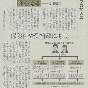 働き方などで変わる年金制度(#^.^#)