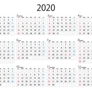 カレンダーの活用by職場の教養(#^.^#)