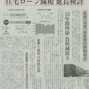 住宅ローン減税 延長検討(#^.^#)