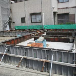 駿河区K1-2 M様邸(基礎工事)(#^.^#)