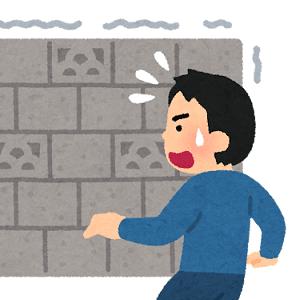 ブロック塀 撤去加速(#^.^#)