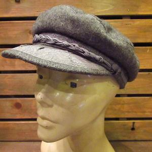 ~1900's SHEETS R. S. CO. Metal Kettle, 1980's-1990's L.L.Bean Tweed Fedora Hat size XL, Vintage MADE IN GREECE Fisherman Cap,,,