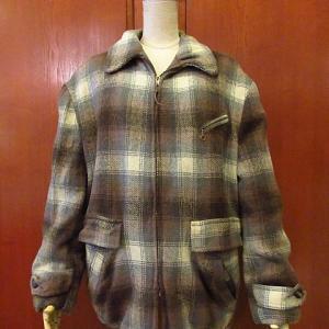 1950's Sir Jac Plaid Wool Coat, 1950's Cotton Western Shirt, 1950's Hoxton 2B Suits,,,