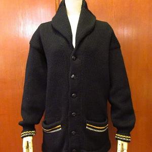1930's-1940's USMA West Point Shawl Collar Cardigan, 1950's Leather Bomber Jacket, 1940's-1950's CALDERON Gabardine Ricky Jacket,,,,