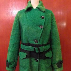 1940's HUDSON'S BAY Women's Wool Coat, 1970's Bellcraft Duck Hunter Camouflage Flannel Shirt, 1950's-1960's TEST Denim Overalls,,,