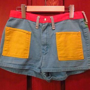 1970's Wrangler × Peter Max Crazy color shorts size 13/14, 1990's SALVADOR DALI Art print T-shirt white size XL, 1990's Carhartt Advertising sign...