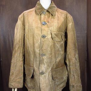 1930's UTICA DUXBAK Duck Hunting Jacket, 1950's PENNEY'S Cotton Sweat Shirt, 1940's-1950's Reversible Rayon Vest,,,