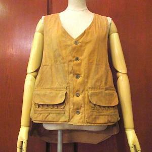1970's Levi's 501 66 First half W80cm, 1950's Total pattern rayon Hawaiian shirt, 1940's Duxbak Duck Hunting vest...