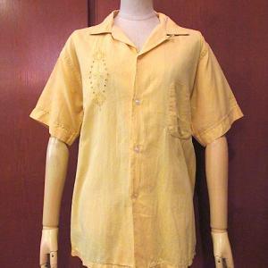1950's CALIFORNIA Rayon total pattern Hawaiian shirt black, 1970's Levi's 517 66First half W34 L32, 1950's IMPALA Sportswear Embroidered Cotton loop collar short sleeve shirt yellow size M...