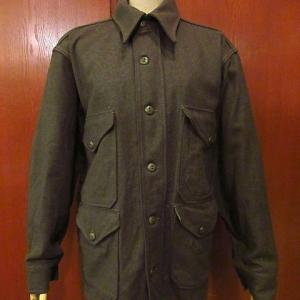 1970's DEADSTOCK U.S.ARMY M-65 Fishtail Hoodie size M-R, 1940's-1950's Earthornton Rayon Loop collar Shirt size L, 1940's Gravenette Wool Mackinaw Jacket,,,