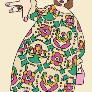 ファッションイラスト(図案人物画)