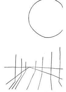 「本日のシュール」補足話(ミリペン画)