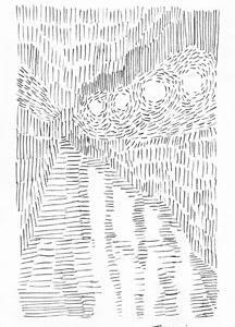 昨日のシュール3葉(ミリペン画)