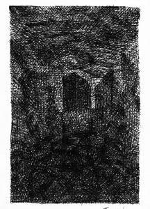 「本日のシュール-禍中」2件(ミリペン画)