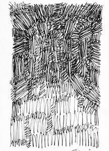 「本日のシュール-面」2想(ミリペン画)