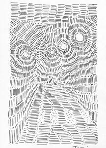 「本日のシュール-怪」7景(ミリペン画)